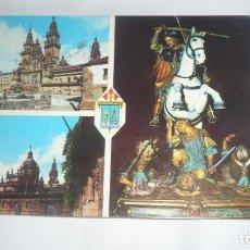 Postcards - Postal santiago de Compostela circulada - Catedral. Puerta Santa - 133413930