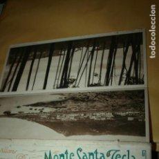Postales: PONTEVEDRA, POSTALES MONTE SANTA TECLA EDICIÓN HOTEL INTERNACIONAL L. ROISIN, MIDEN 29 X 12 CMS. . Lote 133905758
