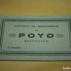 Postales: PONTEVEDRA, 12 POSTALES CONVENTO DE MERCEDARIOS DE POYO, HELIOTIPIA DE KALLMETER Y GAUTIER.. Lote 133906074