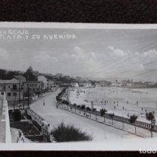 Postales: 2 POSTALES DE SANXENXO Y SU PLAYA. FOTOGRAFICA TORRES.. Lote 134205986