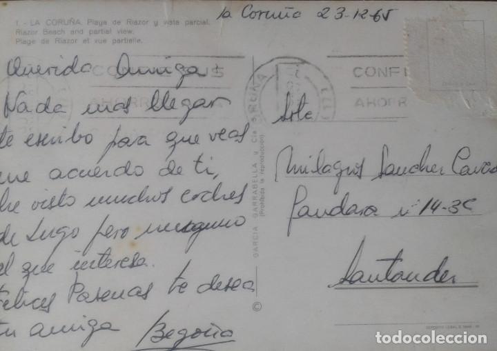 Postales: CORUÑA - PLAYA DE RIAZOR - Foto 2 - 134415046