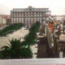 Postales: CORUÑA - PARQUE DE MENDEZ NUÑEZ Y HOTEL EMBAJADOR. Lote 134415522