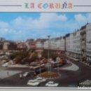 Postales: CORUÑA - CRISTALERA Y PUERTA REAL. Lote 134549210