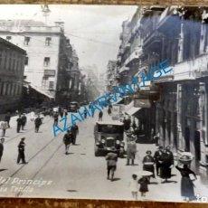 Postales: VIGO (PONTEVEDRA): CALLE DEL PRÍNCIPE. LIBRERÍA TETILLA. NO CIRCULADA (AÑOS 10). Lote 135315210