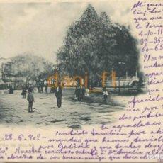 Cartoline: EL FERROL CANTON DE MOLINS - PAPELERÍA DE EL CORREO GALLEGO - CIRCULADA 1902 - VER REVERSO. Lote 135587754