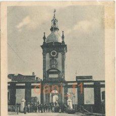 Cartoline: EL FERROL PUERTA DEL ARSENAL DE LOS DIQUES - EL CORREO GALLEGO - CIRCULADA - VER REVERSO. Lote 175822242