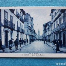 Postales: LUGO. CALLE DE LA REINA. Lote 135702355