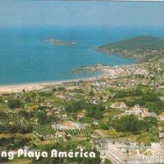 Postales: POSTAL CAMPING PLAYA AMERICA. NIGRAN. PONTEVEDRA - POSTALES FAMA. Lote 136074706