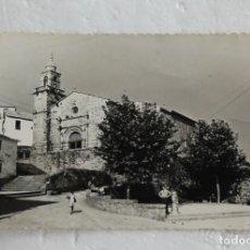 Postales: VILLAGARCIA DE AROSA: PONTEVEDRA. IGLESIA PARROQUIAL (CARRIL). ED. ALARDE Nº 16 - 1961 CIRCULADA. Lote 136075174