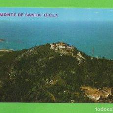 Postales: POSTAL - MONTE DE SANTA TECLA - LA GUARDIA - PONTEVEDRA -. Lote 136240858