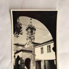 Postales: SANTIAGO DE COMPOSTELA. POSTAL NO.86 IGLESIA DE SANTA MARIA SALOMÉ EDITA: EDICIONES ARTIGOT H.1950?. Lote 136532938