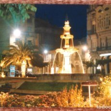 Postales: ORENSE - PLAZA DE GALICIA. Lote 136557286