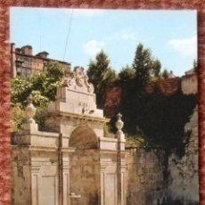 Postales: ORENSE - FUENTE DE LAS BURGAS. Lote 136557358