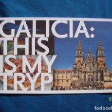 Postales: POSTAL GALICIA CATEDRAL DE SANTIAGO DE COMPOSTELA. Lote 136567838