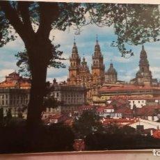 Postales: TIRA CON 14 POSTALES DE SANTIAGO DE COMPOSTELA. Lote 136750350