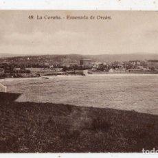 Postales: LA CORUÑA. ENSENADA DEL ORZÁN.. Lote 137181338