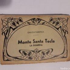 Postales: LIBRO ÁLBUM ACORDEÓN . 10 POSTALES MONTE SANTA TECLA LA GUARDIA EDICIONES POLIGRÁFICA. Lote 137574453