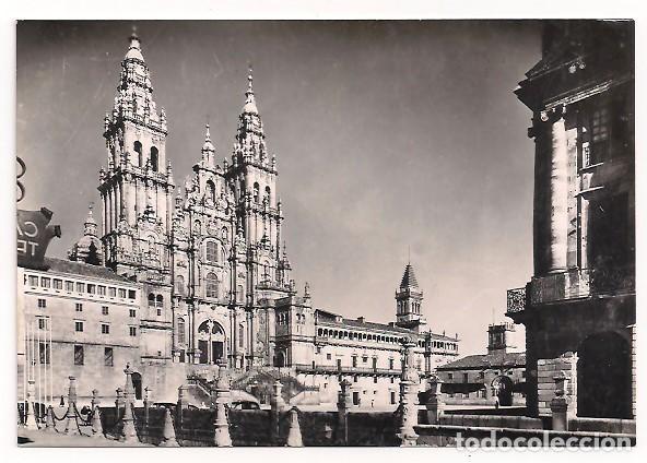 LA CORUÑA - SANTIAGO DE COMPOSTELA - FACHADA DEL OBRADOIRO - SERIE I - NÚM 9607 (Postales - España - Galicia Moderna (desde 1940))