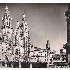 Postales: LA CORUÑA - SANTIAGO DE COMPOSTELA - FACHADA DEL OBRADOIRO - SERIE I - NÚM 9607. Lote 137664886