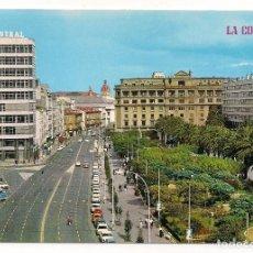 Postales: LA CORUÑA - AVDA. LOS CANTONES Y JARDINES - Nº953 - EDICIONES PARIS - J. M.. Lote 137666670