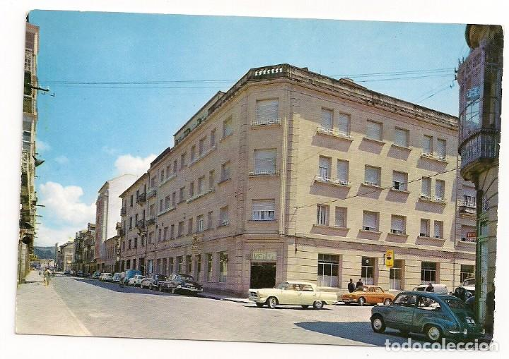 PONTEVEDRA - HOTEL UNIVERSO - SERIE II NÚM 9720 - COCHES ANTIGUOS (Postales - España - Galicia Moderna (desde 1940))