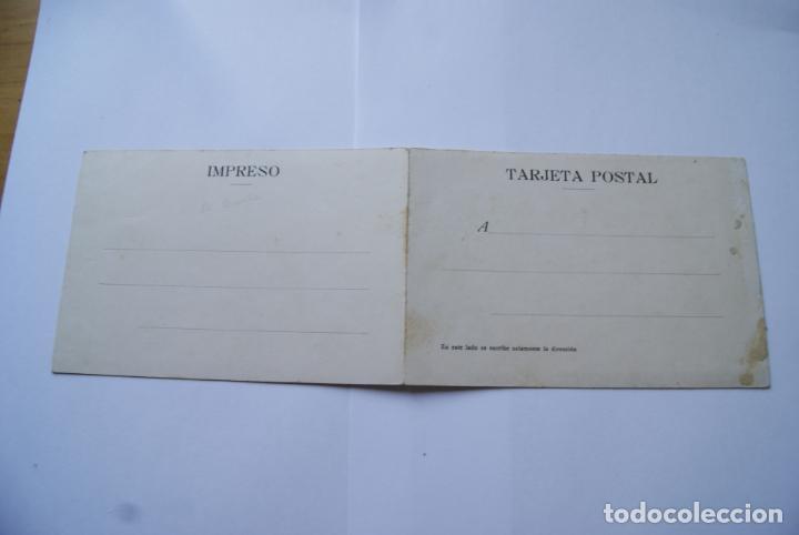 Postales: POSTAL DOBLE A CORUÑA COLOREADA AÑOS 20/30 - Foto 3 - 138214510