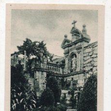 Postales: PONTEVEDRA. CANGAS. TORRE DE ALDÁN. FUENTE DE LA HUERTA-JARDÍN. Lote 138696010