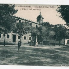 Postales: MONDOÑEDO. HOSPITAL DE SAN PABLO Y CÁRCEL DEL PARTIDO.. Lote 138699518