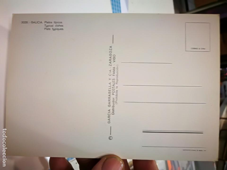 Postales: Postal Galicia Platos típicos - Foto 2 - 138806130