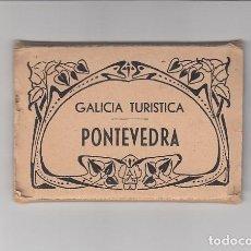 Postales: PONTEVEDRA.- CUADERNO 10 POSTALES PEQUEÑAS (10 X 7 CM). Lote 138807238