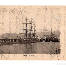 Postales: VIGO.PONTEVEDRA.- MUELLE DE HIERRO. A. BARRIENTOS. Lote 139152434