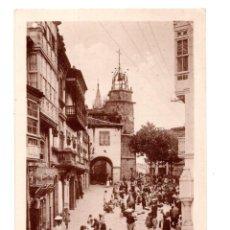 Postales: BETANZOS (CORUÑA).- CALLE SANCHEZ BREJUA. Lote 139185998