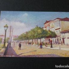 Postales: VIGO PONTEVEDRA PASEO ALFONSO XIII EDICION INGLESA TUCK & SONS. Lote 139187310