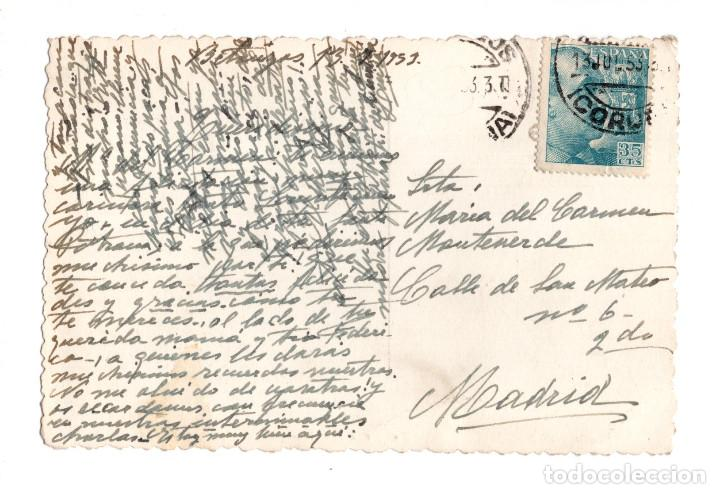 Postales: BETANZOS (A CORUÑA).- VISTA PARCIAL Y RIO MANDEO - Foto 2 - 139353602