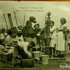 Postales: VIGO (PONTEVEDRA) FUENTE EN LA RIBERA - ED. HAUSER - POSTAL NUEVA SIN CIRCULAR - GALICIA. Lote 139540958