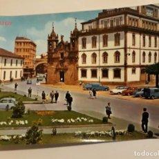 Postales: POSTAL LUGO CALLE Y PUERTA DE SAN FERNANDO E IGLESIA DE SAN FROILAN EDITORIAL PARIS Nº373. Lote 139578758