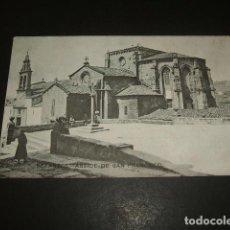 Postales: BETANZOS LA CORUÑA ABSIDE DE SAN FRANCISCO. Lote 139826738