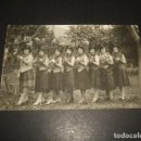 Postales: REDONDELA PONTEVEDRA CHICAS DISFRAZADAS 26-2-1931 CARNAVAL POSTAL FOTOGRAFICA . Lote 139945462