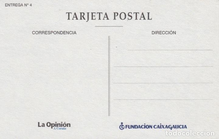 Postales: POSTAL A CORUÑA. TORRE DE HÉRCULES. REPRODUCCIÓN LA OPINIÓN - Foto 2 - 140034902