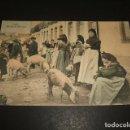 Postales: LUGO UN DIA DE MERCADO. Lote 162977274