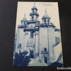 Postales: PUENTEDEUME LA CORUÑA IGLESIA PARROQUIAL. Lote 140729474