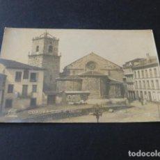 Postales: LA CORUÑA IGLESIA DE SANTIAGO POSTAL FOTOGRAFICA FERRER. Lote 140749786