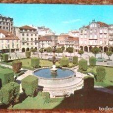 Postales: PONTEVEDRA - PLAZA DE ORENSE. Lote 143264906
