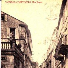 Postales: SANTIAGO DE COMPOSTELA (LA CORUÑA) - RUA NUEVA. Lote 207699826
