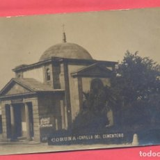 Postales: CORUÑA-CAPILLA DEL CEMENTERIO, FOTOGRAFICA, FERRER, SIN CIRCULAR, VER TEXTO Y FOTOS. Lote 144281690