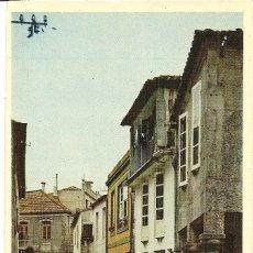 Postales: VIGO - BAYONA, CALLE TÍPICA - DOMINGUEZ - SIN CIRCULAR. Lote 144413506