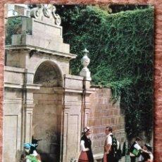 Postales: ORENSE - LAS BURGAS - BALLET FOLKLORICO. Lote 144701666