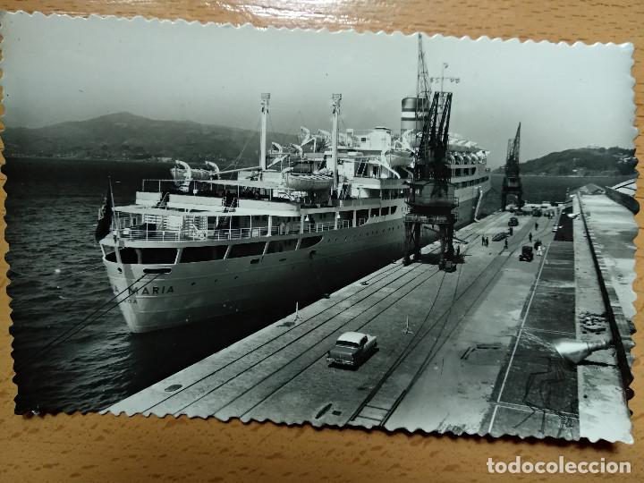 VIGO.- LA SANTA MARIA EN EL PUERTO. 334. L. ROISIN. (Postales - España - Galicia Moderna (desde 1940))
