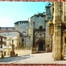 Postales: ORENSE - CATEDRAL DESDE LA PLAZUELA DEL TRIGO. Lote 145475838