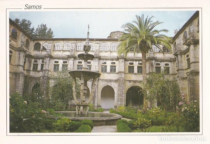 Postal Fuente Das Nereidas Monasterio De Samos Sold Through Direct Sale 146134526